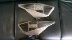 画像1: KING RZ250 350 アルフィンカバー
