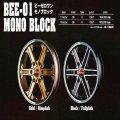 BEE-01 MONO BLOCK ビーゼロワン モノブロック Black/FullPlish